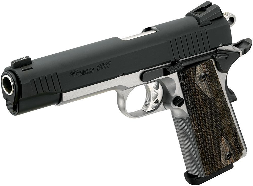 Sig Sauer 1911 Traditional Pistol  45 ACP 5