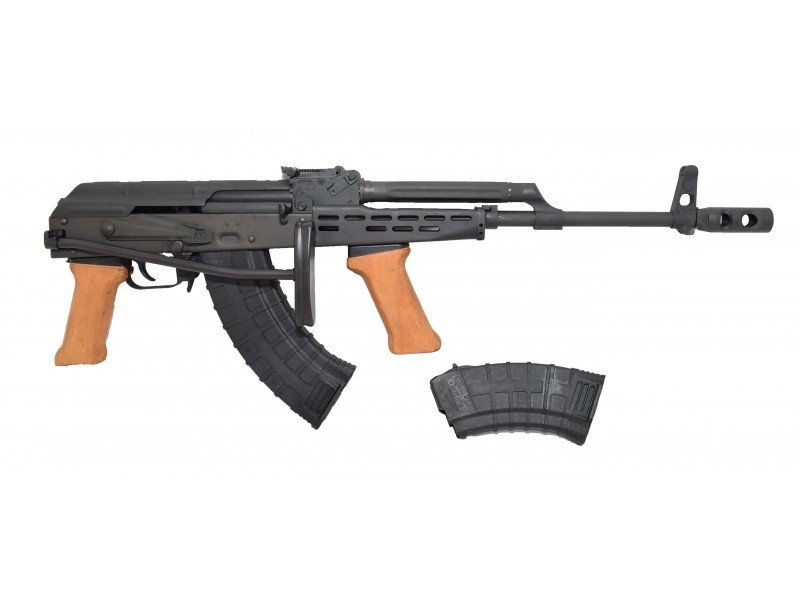 Hungarian AMD 65 AK-47 Type 7 62x39 High Cap w/Original Wood Grips and  2-Mags - $499 99