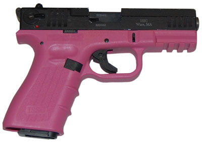 "Issc M111005 M22 Bravo 22 Long Rifle 4"" 10+1 Pink Syn Grip B - $316.99  (Free S/H on Firearms)"