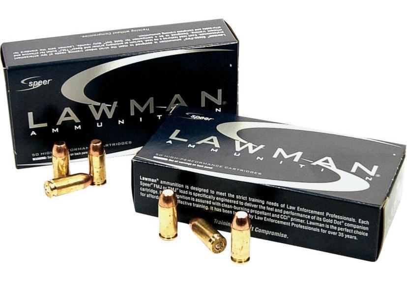 Speer Lawman 9mm Luger 124 Grain Total Metal Jacket - $14 75