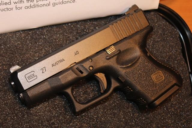 Glock 27 40cal Baby Glock With Night Sights 395 Gun Deals