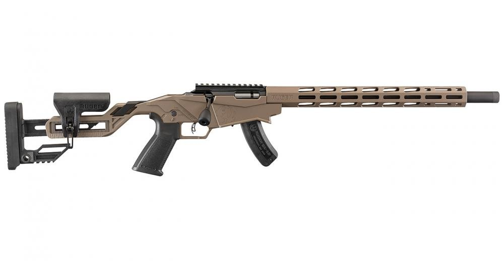 Ruger Precision Rimfire 22LR Bolt-Action Rifle with FDE Finish - $449 99  (Free S/H on Firearms)