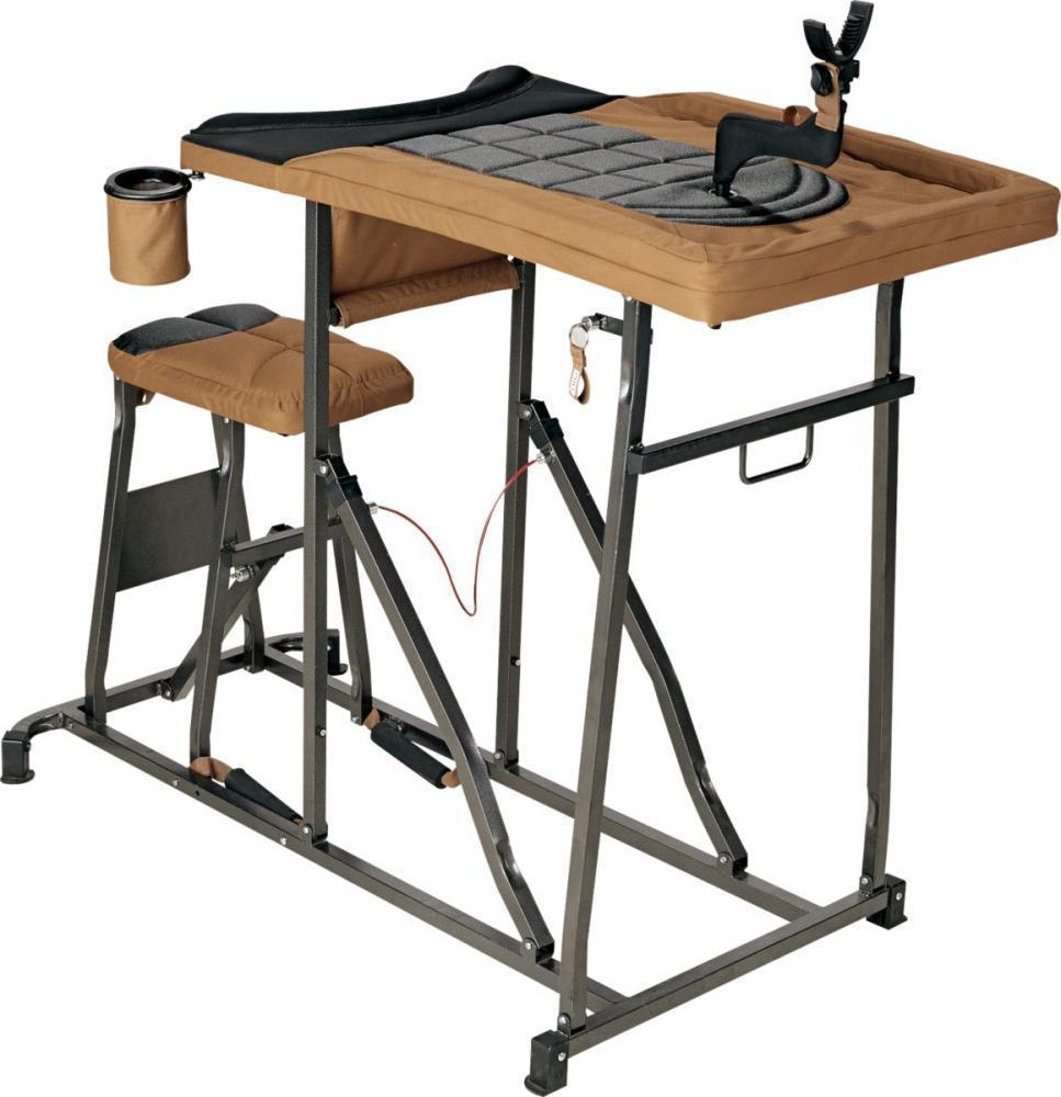 Miraculous Herters Deluxe Shooting Bench 99 97 Free 2 Day Shipping Over 50 Ocoug Best Dining Table And Chair Ideas Images Ocougorg