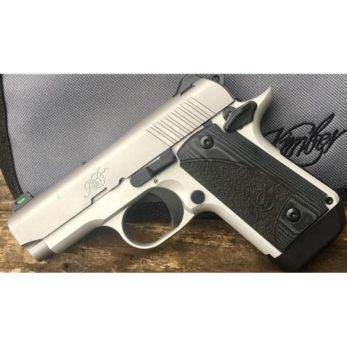 *Special Edition* Kimber Micro 9mm 7 Rnd G-10 Grips FO Front Sight,  Stainless - $417 77 (Free S/H on Firearms)