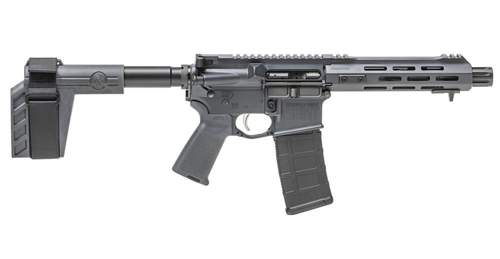 Springfield Saint 5 56mm Tactical Gray Semi-Auto Pistol - $789 99 (Free S/H  on Firearms)