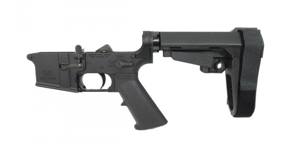 PSA AR15 Complete Stealth Classic SBA3 Lower - $169 99