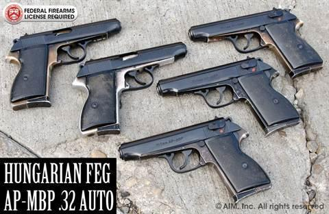 Hungarian FEG AP-MBP  32 Auto Pistol - $199 95