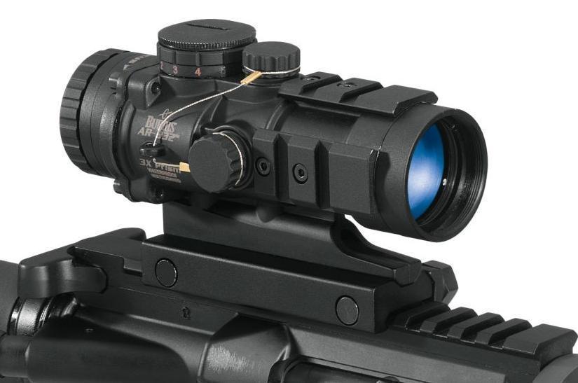 Burris 300209 Ar 132 Prism Sight 1x 32mm Obj Eye Relief 4 Moa Dot
