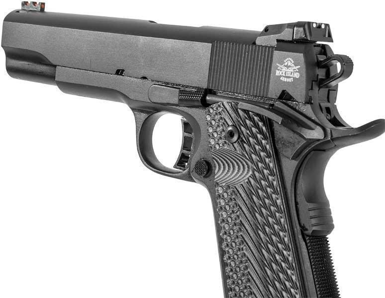 Rock Island Armory M1911-A1 Tactical II 10mm Single Action Semi-Auto  Pistol, 5″ Barrel, Parkerized Finish - $507 42 (Free S/H on Firearms)