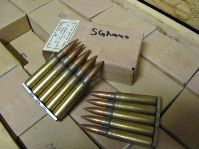 900 rds 8mm Mauser 196 grain Yugo 1950s Surplus ammo - $175 or $179