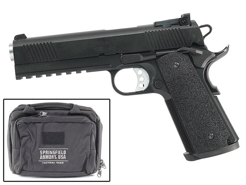 Springfield 1911-A1  45 TRP Operator Full Length Rail 18 Package- CA -  $1399 99 (Free Shipping over $500)