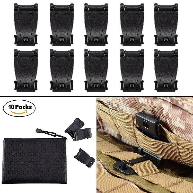 MOLLE Clips Tactical Strap Management Tool Web Dominator Backpack -  9 +  Free S H over  25 (Free S H over  25) 2b27807674c85