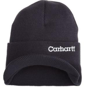 00b0d692 Carhartt Men's Knit Hat With Visor - $9.99 + FSSS (Free S/H over $25 ...