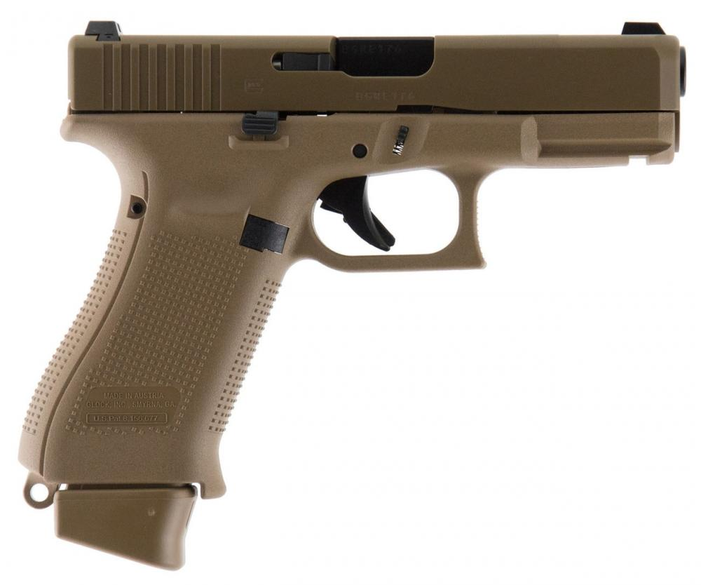 Glock 19X Pistol G5 w/3 MAGS & Nights Sight - $508 50 after code