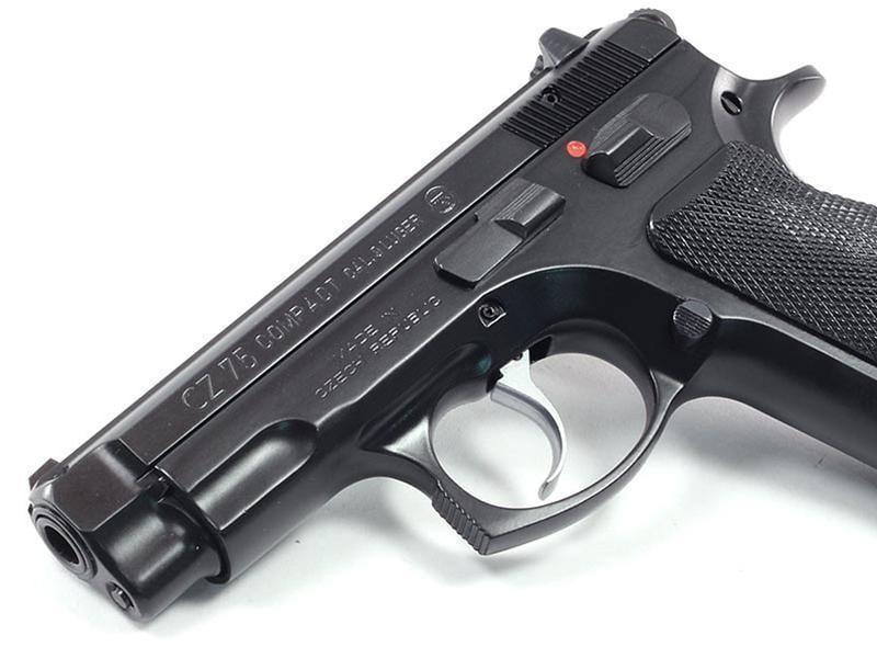 CZ 75 Compact 9mm 37 Black 2 14rd 91190