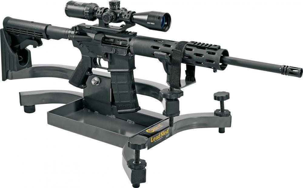 Caldwell Lead Sled Solo Gunrest – Ghost Grey - $49 99 (Free 2-Day S/H over  $50)