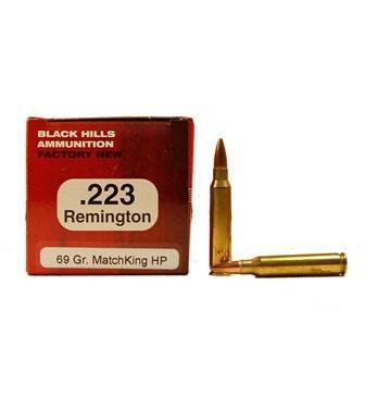 Black Hills 223 Remington 69gr Sierra MatchKing 50rds - $11 99