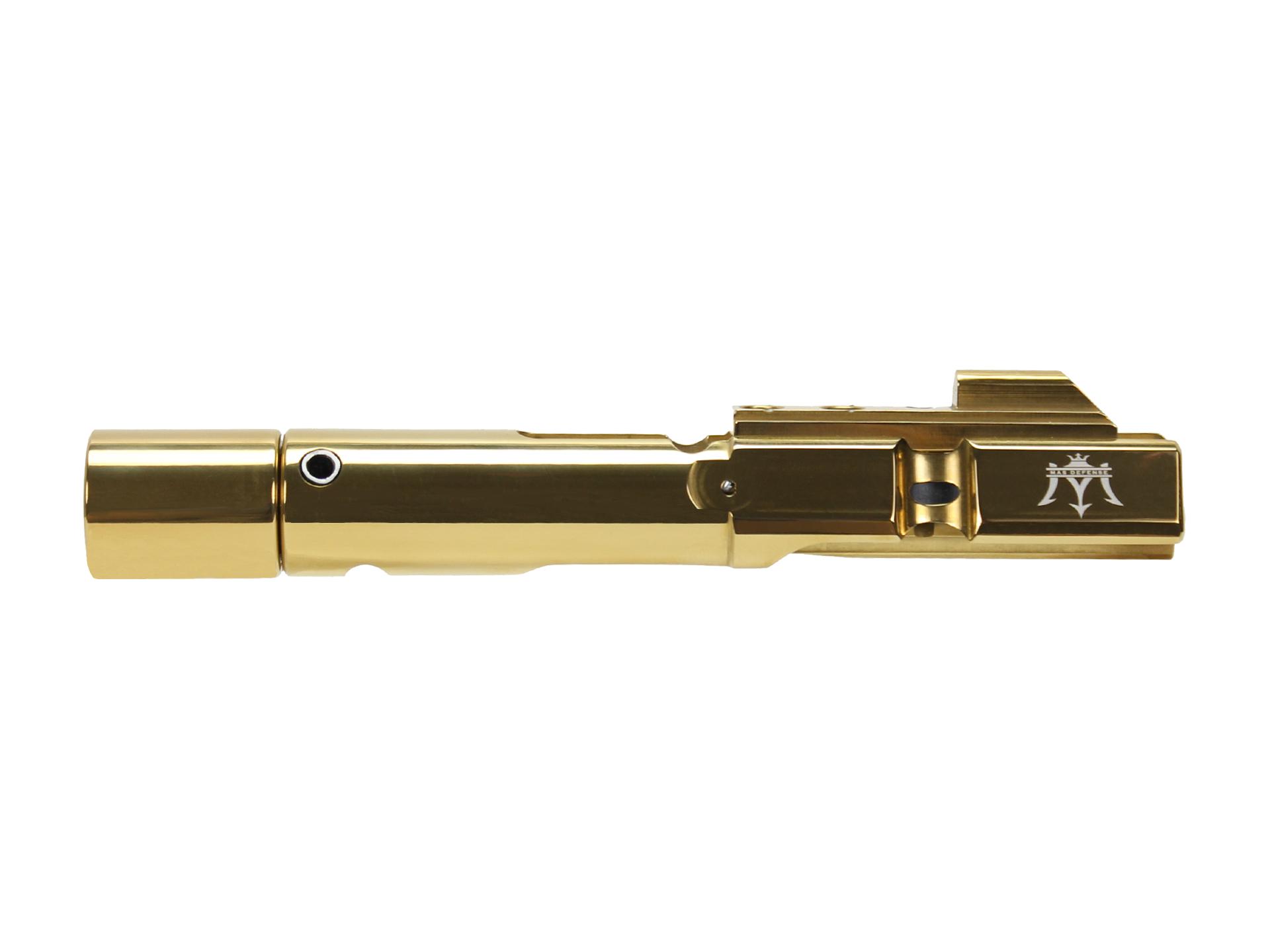 9MM AR9 Bolt Carrier Group Glock & Colt Titanium Nitride TiN Gold BCG -  $154 99