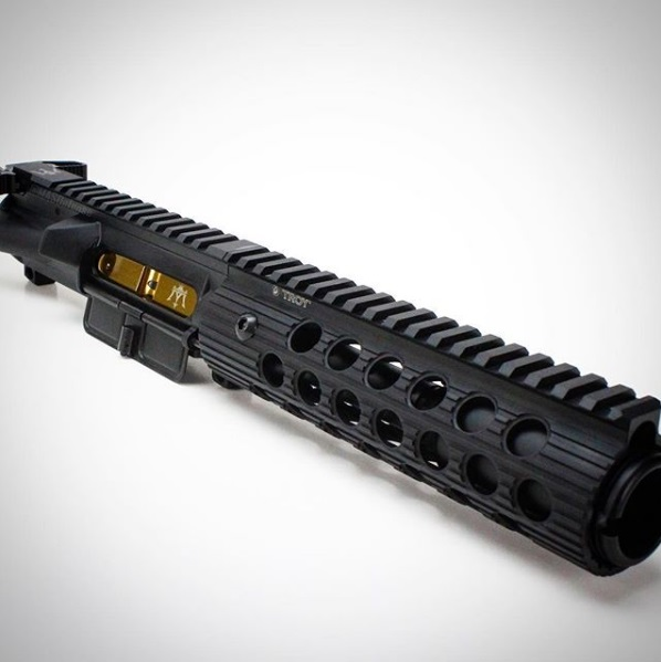 9MM AR9 Bolt Carrier Group Glock & Colt Titanium Nitride TiN Gold BCG -  $154 99