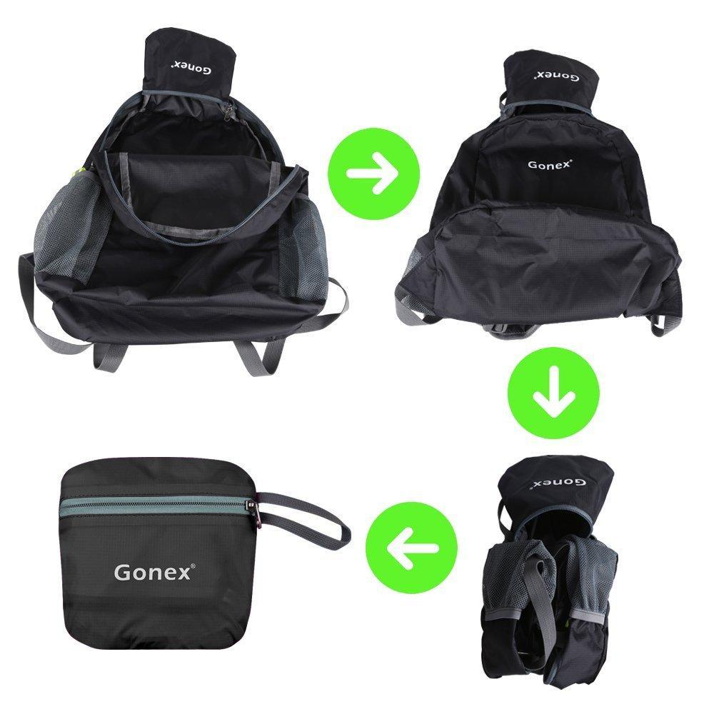 Gonex Lightweight Packable Backpack Hiking Daypack Upgraded Version 33L Backpack