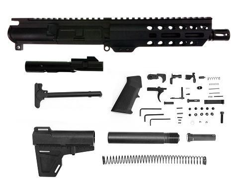 Aero Precision 9mm AR-15 AR9 Pistol Kit 7 5