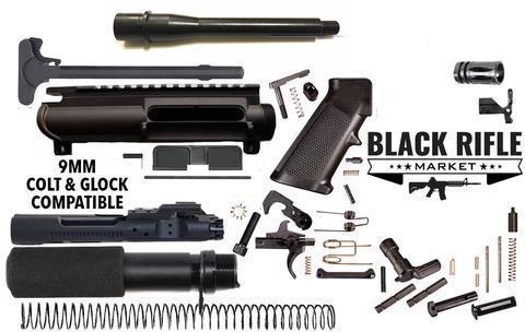 AR9 9MM Pistol Build Kit 7 5