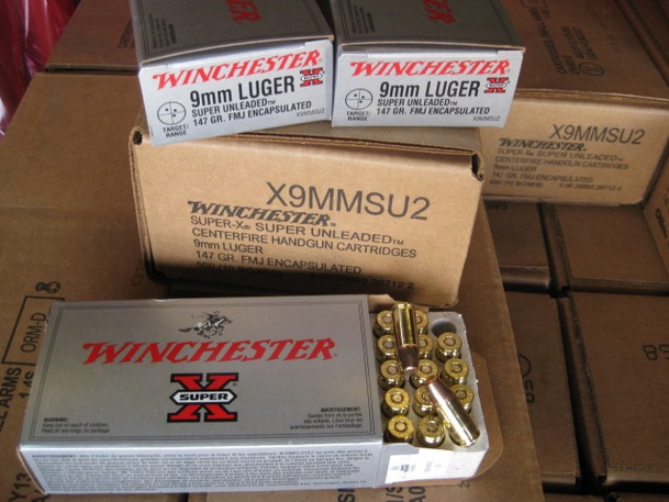 500rd - 9mm 147gr FMJ Winchester Super - X Subsonic - $149 50