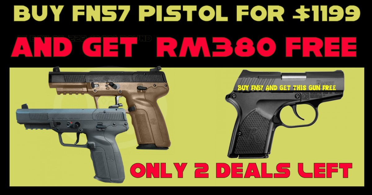 BUY FN57 5 7x28   and GET RM380 Free - $1199