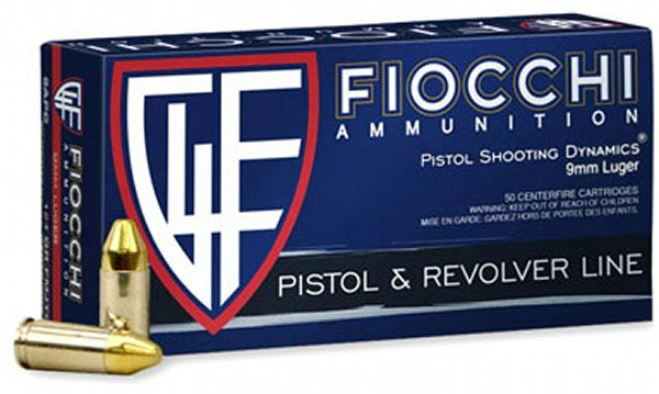 Fiocchi 9mm Luger 115g FMJ/1000rds - $154 99 ($10 off thru Sept 6th, Use  discount code