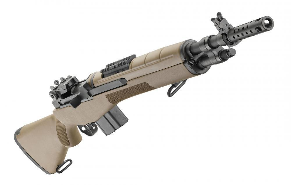 Springfield M1A Scout Squad 308 with FDE Composite Stock