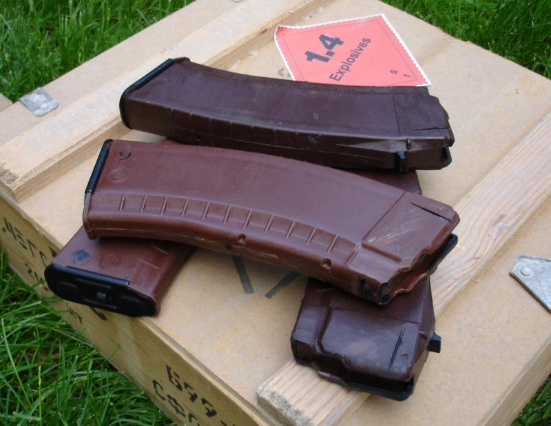 Bulgarian Red/Brown AK74 magazine - $32 On SALE | gun deals