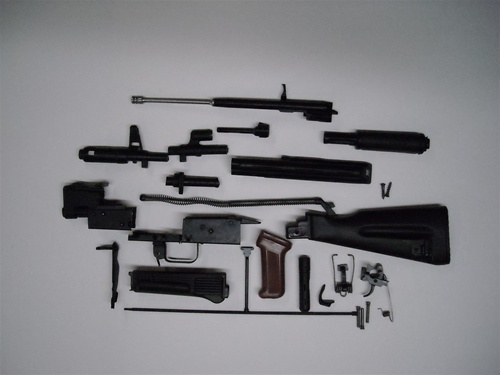 UNISSUED BULGARIAN AK-74 PARTS KIT WITH MATCHING SERIAL NUMBERS  INCLUDES  CLEANING KIT AND CLEANING ROD  - $214 99+ 10%off
