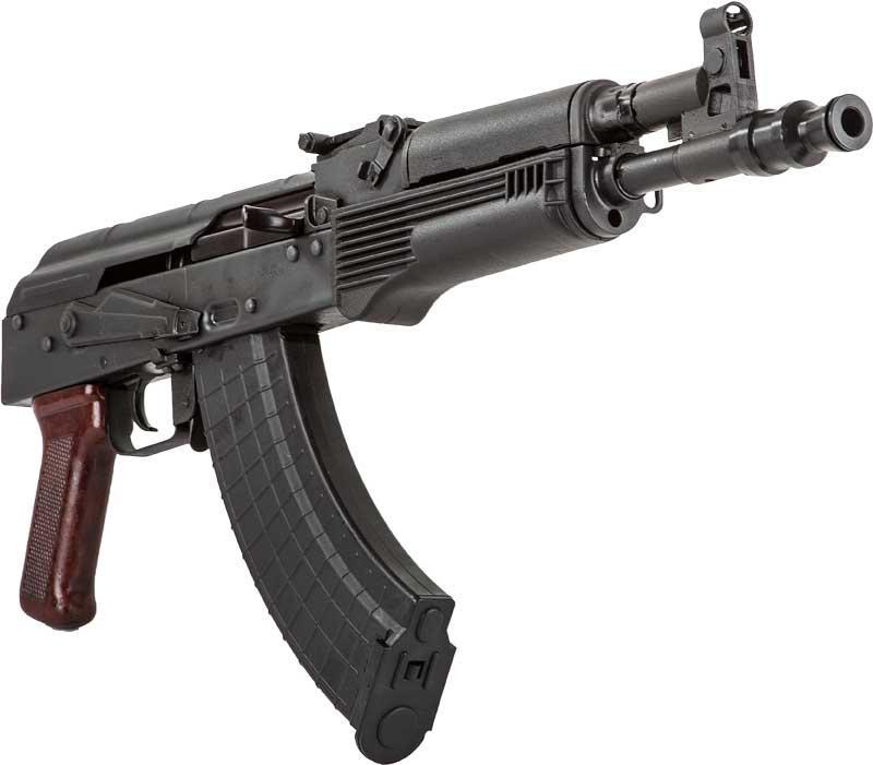Polish AK-47 Hellpup Pistol 7 62x39 with (2) 30RD Mags #AKAGUN-HELLPUP -  $399 99
