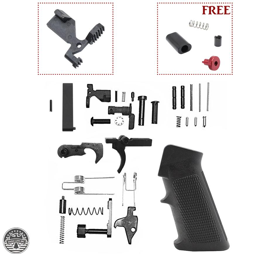 AR-15 Standard Lower Receiver Parts Kit - $38 99 +Free Shipping