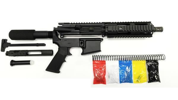 AR-15 PISTOL KIT COMPLETE WITH 7 5