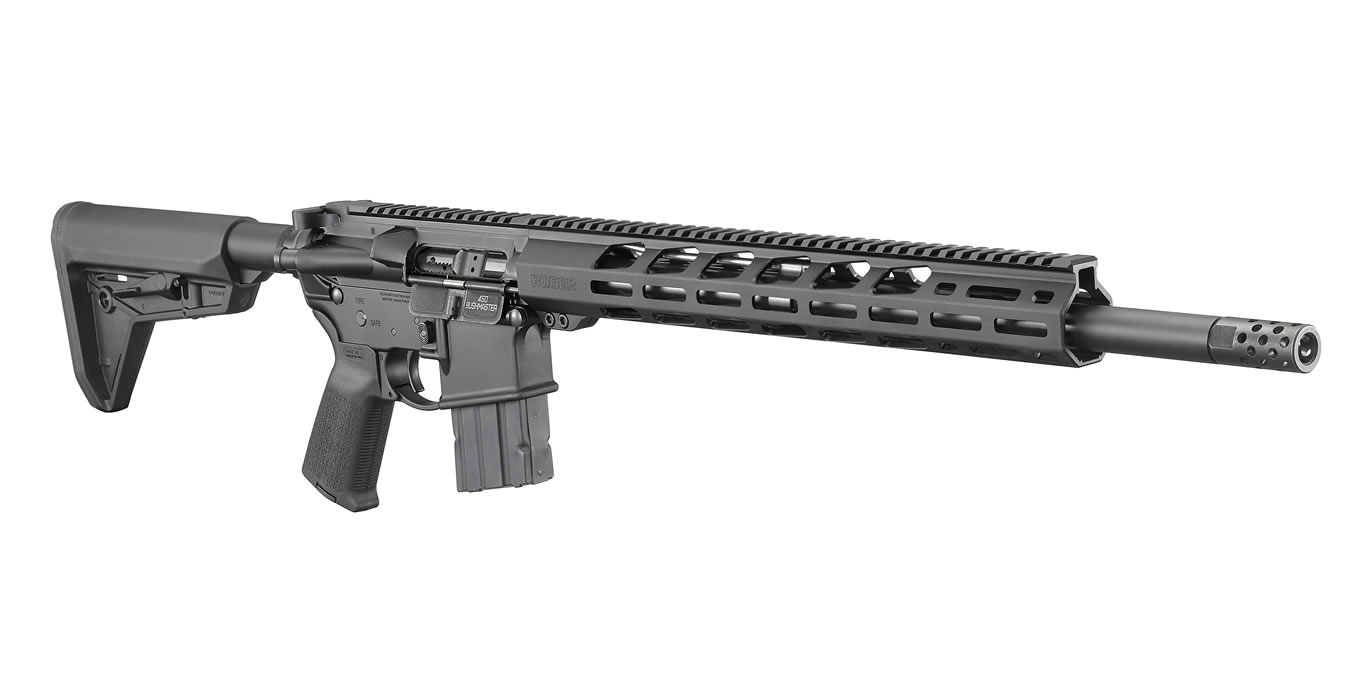 Ruger AR-556 MPR Rifle  450 BM 18 63-inch 5Rds - $679 00 ($7 99 S/H on  firearms)