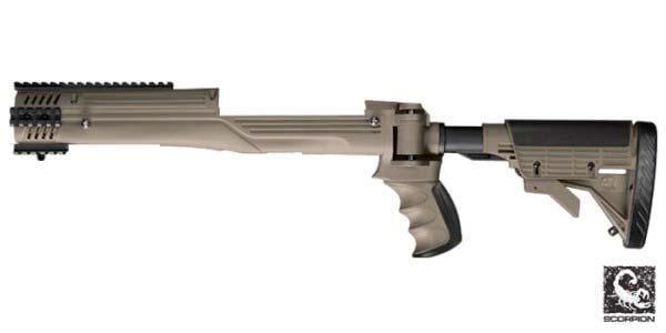 40 % off ATI Ruger Mini-14/Mini-30 Strikeforce Stock in Desert Tan with  code: ATI14 - $77 97