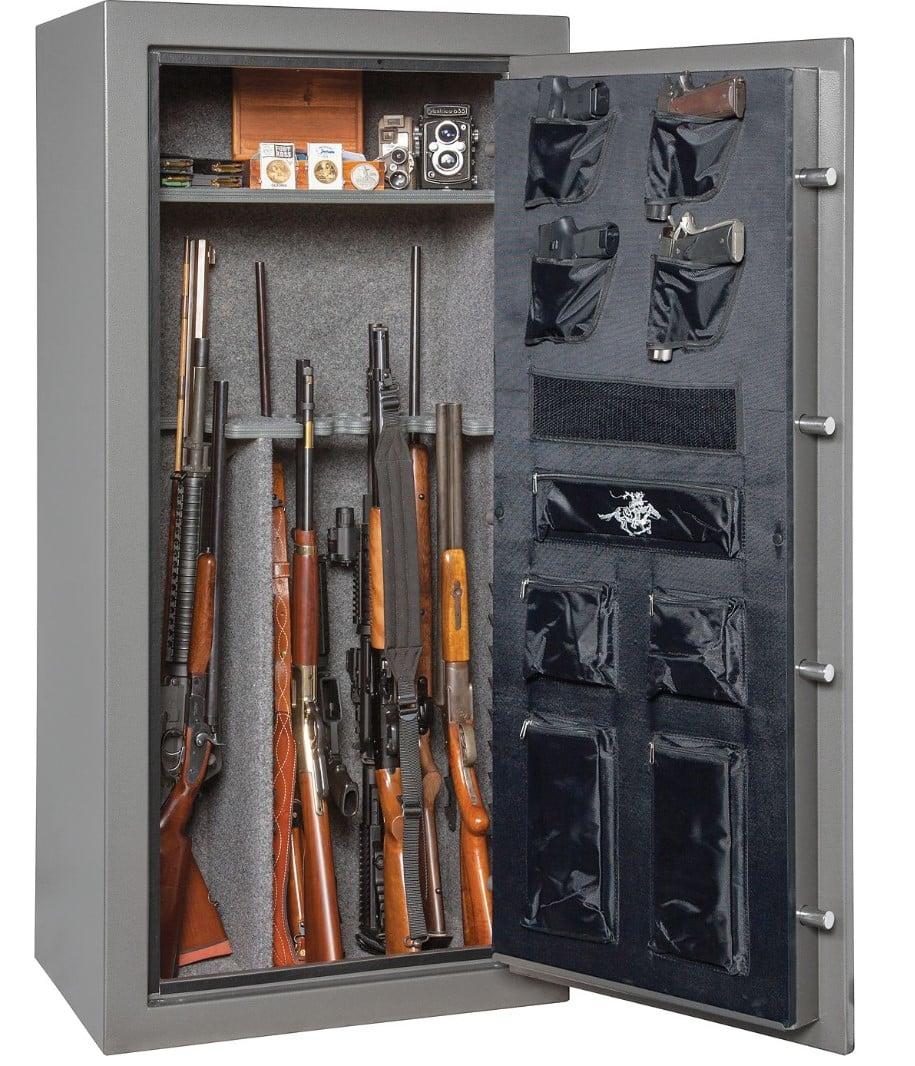 Winchester 24 Long Gun Capacity Safe, Granite, Electronic Lock, 45 Minute  Fire rating at 1400 deg  - $429 99 + free store pickup