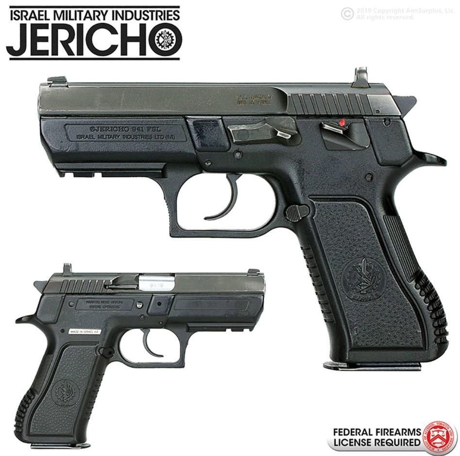 Imi Jericho Model 941fsl 9mm Handgun - USED - $399 95
