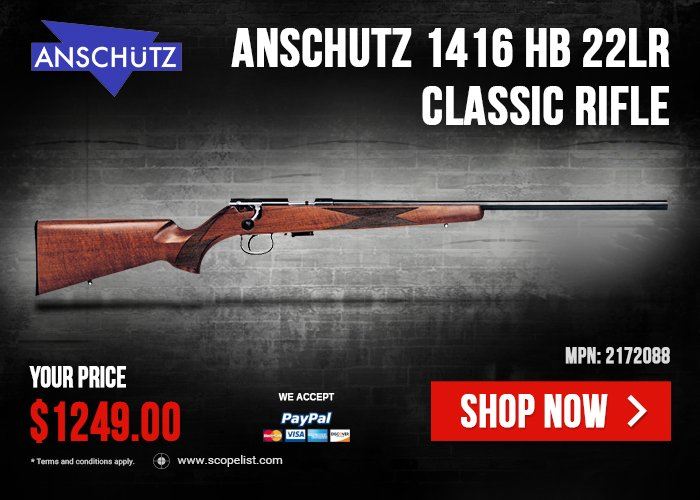 Anschutz 64 Series Sporting Rifles Now Available at Scopelist