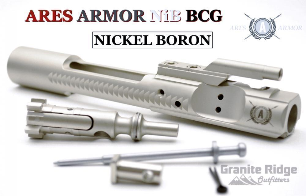 Ares Armor Nickel Boron Bolt Carrier Group HPT/MPI 5 56 - $149 95 + Free  Shipping!