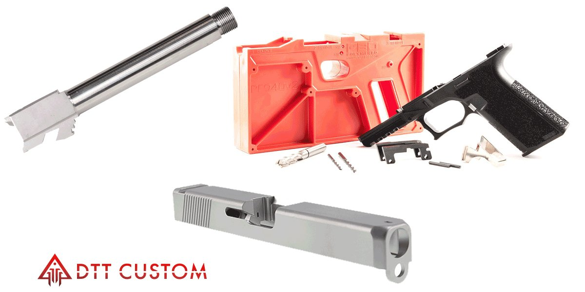 Delta Deals Alpha Slide + Glock 17 Barrel + *Pick Your Color* Poly 80 -  $319 99