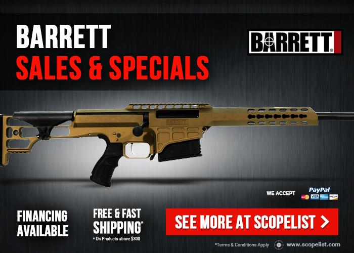 Barrett 98B Sales & Specials - Best Prices And Massive Savings On Barrett  98B Rifles! Shop Now