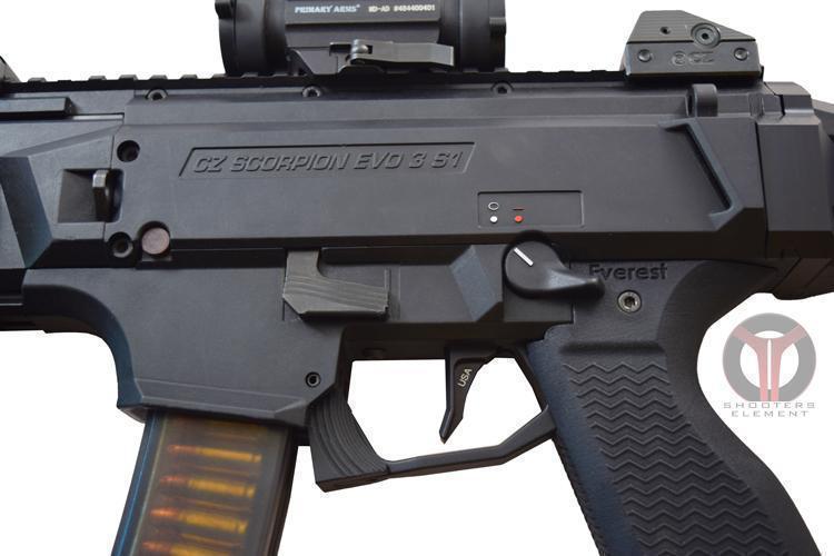 New Flat trigger for CZ Scorpion EVO III - $34 99