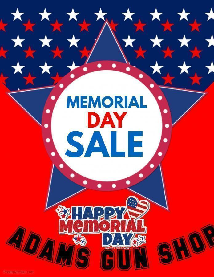 Gun deals memorial day