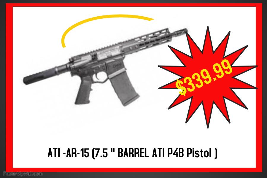 ATI P4 Pistol 5 56 7 5