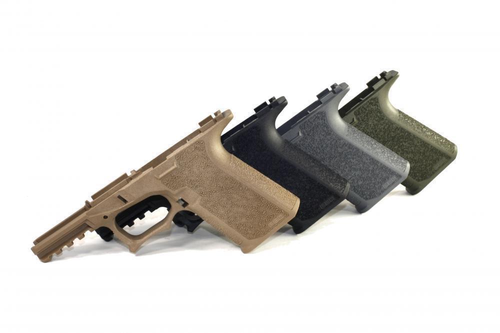 Polymer80 PF940Cv1 80% Compact Pistol Frame Glock 19/23/32 FDE, OD ...