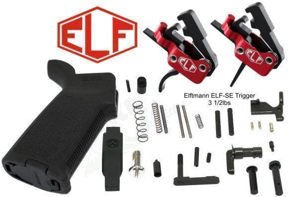 MOE AR15 Lower Parts Kit w/ ELF SE Curved or Straight Trigger - Starting at  $169 Shipped  Various colors/options available