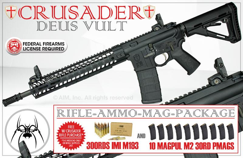 Spike's Tactical Crusader  223/5 56 Rifle - $1299 99 (Free S/H over $25)