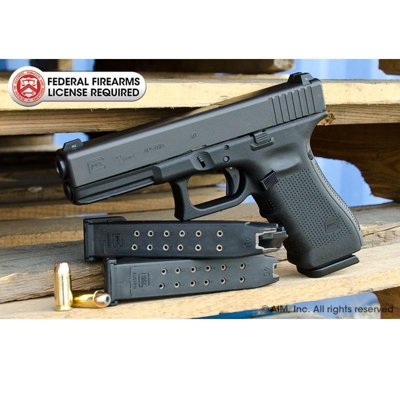 Refurbished Glock 22 40cal Handgun Gen 4 512 99 Gun Deals